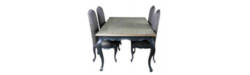 Dining Table Indoor French Painted Furniture