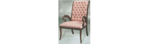 Chair & Stool Classic Furniture Mahogany