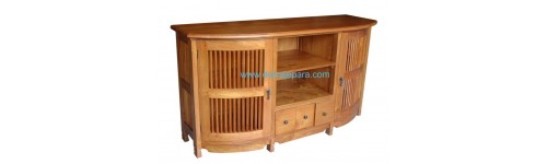 Indonesia Furniture Teak TV Cabinet