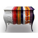 painted furniture chest of drawers for bedroom by Dwira Jepara Indonesia.