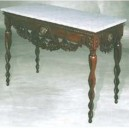 classic furniture of livingroom console table design