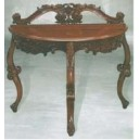 Furniture classic of livingroom console carved design