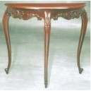 Furniture classic of livingroom console carved 3 legs design