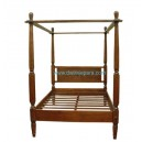 Indonesia Bed Teak Furniture DW-LI010 (160X180X200)