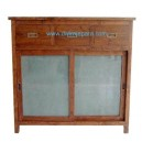 Indonesia Teak Furniture kitchen Cabinet DW-MC01D (110X42X106)