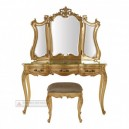 French Furniture Carved Gold Dressing Table