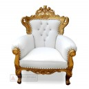 Indonesia Furniture of Palace Gold Arm Chair