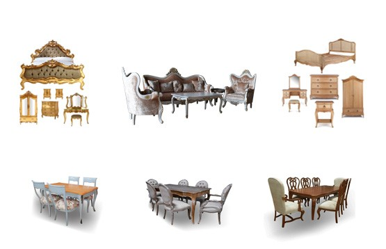 Classic French Furniture Mahogany - Teak Furniture  - Danish Furniture